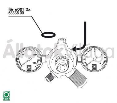 JBL ProFlora gumi tömítés v002/u001/m001-hez 2 db-os 63336