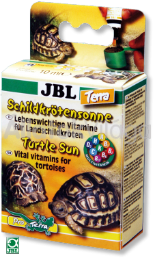 JBL Tortoise Sun Terra 10 ml-es vitamin szárazföldi teknnősöknek