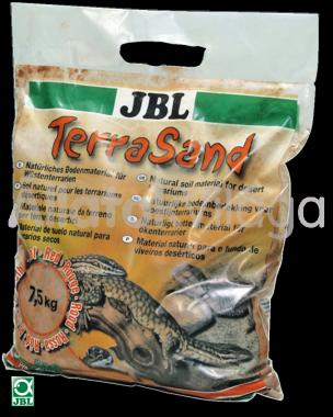 JBL TerraSand natur-vörös7,5 kg-os