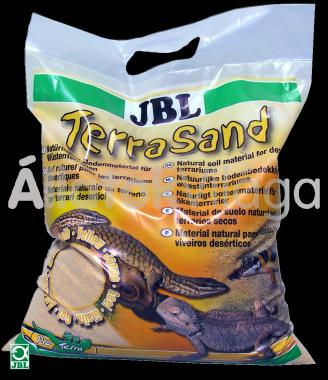 JBL TerraSand natur-sárga 7,5 kg-os