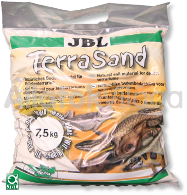 JBL TerraSand fehér 7,5 kg-os