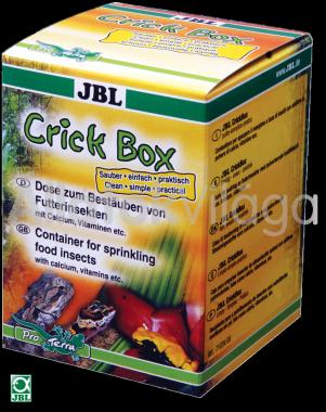 JBL CrickBox eledel tartó doboz