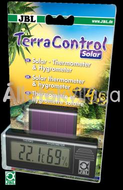 JBL TerraControl Solar napelemes digitális hő- és páramérő