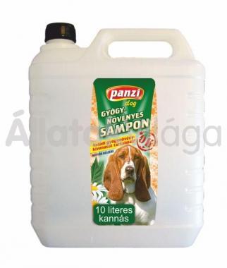 Panzi Gyógynövényes sampon kutyáknak 10 literes