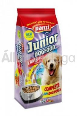 Panzi Junior DogFood Lamb & Rice bárány & rizs száraz kölyök kutyaeledel 10 kg-os