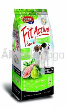 Panzi FitActive Young-Puppy-kölyök Small Chicken & Pears csirke & körte kutyaeledel 4 kg-os