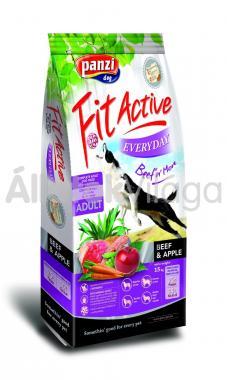 Panzi FitActive Adult-felnőtt Everyday Beef & Apple marha & alma kutyaeledel 15 kg-os
