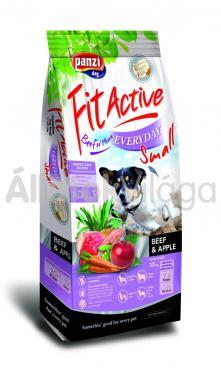 Panzi FitActive Adult-felnőtt Everyday Small Beef & Apple marha & alma kutyaeledel 15 kg-os