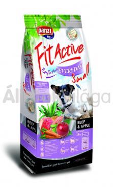 Panzi FitActive Adult-felnőtt Everyday Small Beef & Apple marha & alma kutyaeledel 4 kg-os