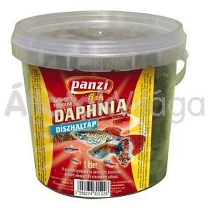 Panzi Daphnia szárított vízibolha díszhaltáp 1 literes vödrös