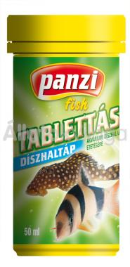 Panzi Tablettás díszhaltáp 50 ml-es