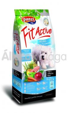 Panzi FitActive Adult-felnőtt Hypoallergenic Fish+ Apple & Rice kutyaeledel 15 kg-os