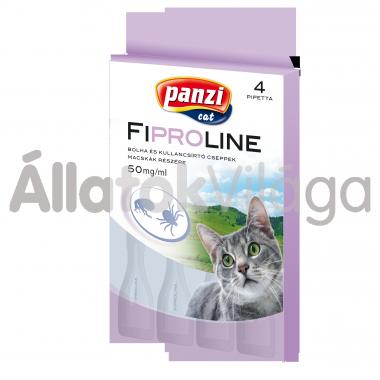 Fipralone 50 mg bolha- és kullancsírtó csepp macskáknak 4 db-os (Panzi)