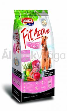 Panzi FitActive Adult-felnőtt Hypoallergenic Lamb + Apple, Rice with Fish kutyaeledel 15 kg-os
