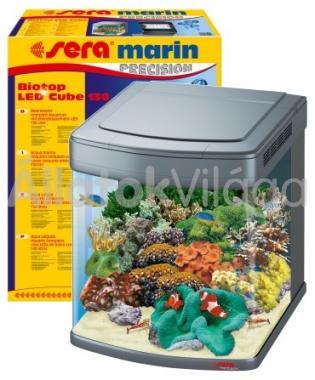 Sera marin Biotop LED Cube 130 komplett akvárium szett (teljesen felszerelve)