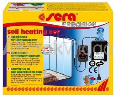 Sera soil heating set automata akváriumi talajfűtő 50 W-os