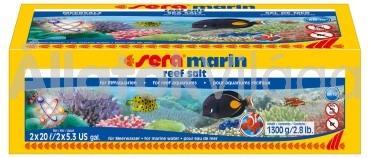 Sera marin reef tengeri só 1300 g-os 40 literhez