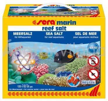 Sera marin reef tengeri só 3900 g-os 120 literhez