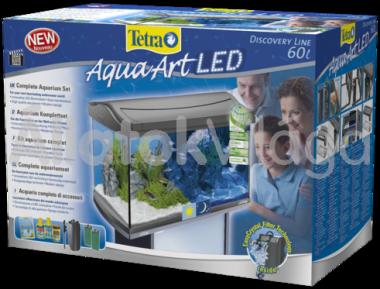 Tetra AquaArt LED Tropical akvárium szett 60 literes antracit