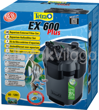 Tetra EX 600 Plus külsőszűrő töltettel 60-120 literig