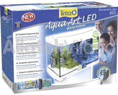 Tetra AquaArt LED Tropical akvárium szett 60 literes fehér