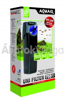 AquaEl UniFilter 750 UV belsőszűrő 200-300 literig