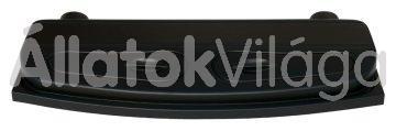 Diversa Selecto akváriumtető világítással domború - íves 150x50-es fekete
