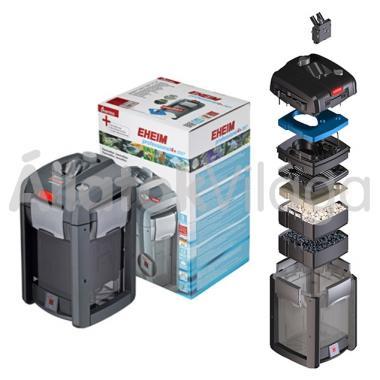 Eheim professionel 4+ 250T külsőszűrő 120-250 literig szűrőtöltettel + beépített fűtővel 2371020