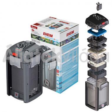Eheim professionel 4+ 350T külsőszűrő 180-350 literig szűrőtöltettel + beépített fűtővel 2373020
