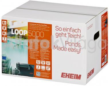 Eheim LOOP 5000 komplett tavi átfolyó szűrő UV szűrővel és szivattyúval 5200020