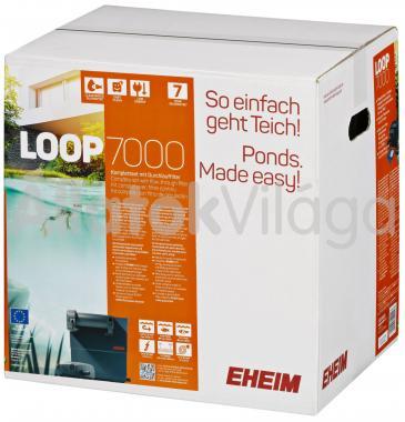 Eheim LOOP 7000 komplett tavi átfolyó szűrő UV szűrővel és szivattyúval 5201020
