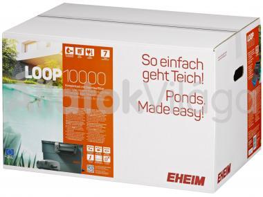 Eheim LOOP 10000 komplett tavi átfolyó szűrő UV szűrővel és szivattyúval 5202020
