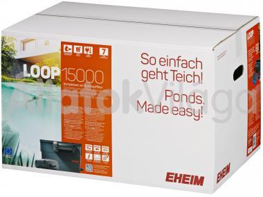 Eheim LOOP 15000 komplett tavi átfolyó szűrő UV szűrővel és szivattyúval 5203020