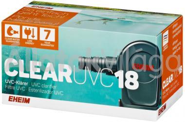 Eheim CLEAR UVC18 tavi UV szűrő 5303010