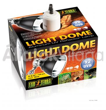 Exo-Terra Light Dome alumínium lámpatest 14 cm-es PT2055