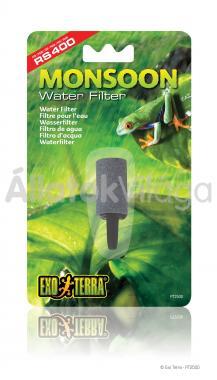 Exo-Terra Monsoon Water Filter víz szűrő esőztetőhöz PT2500