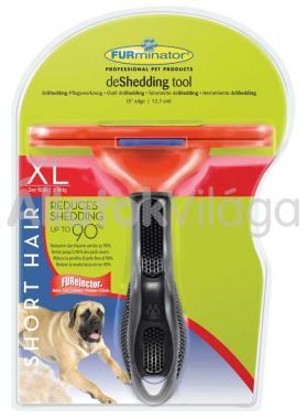FURminator Short Hair XL-es aljszőr kiszedő kutyáknak rövid szőrhöz