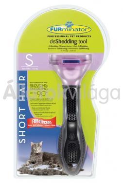 FURminator Short Hair S-es aljszőr kiszedő macskáknak rövid szőrhöz