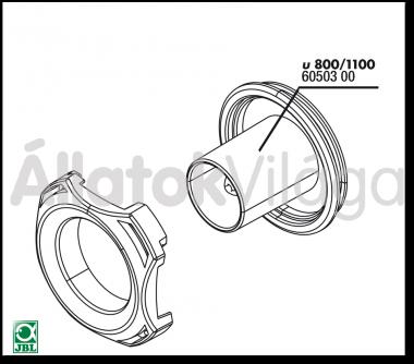 JBL ProFlow u800/1100 tömlőcsatlakozó 60503