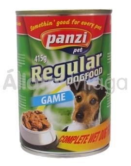 Panzi Regular DogFood Game vadas konzerv kutyaeledel 1240 g-os
