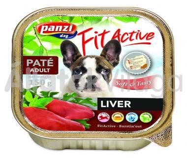Panzi FitActive Paté Adult Liver máj pástétom kutyáknak 150 g-os