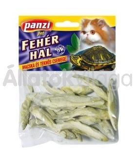 Panzi Fehér hal teknősöknek és macskáknak 10 g-os
