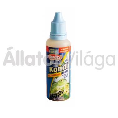 Panzi Kondi Multivitamin Drops hüllőknek 30 ml-es