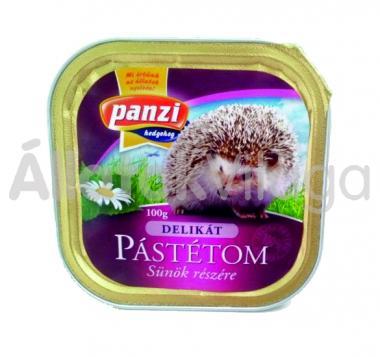Panzi Delikát Pástétom sünöknek konzerv 100 g-os