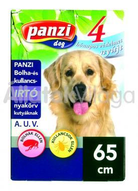 Panzi bolha és kullancsirtó nyakörv kutyáknak 65 cm-es dobozos