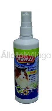 Panzi Bolha- és kullancs riasztó permet macskáknak 200 ml-es
