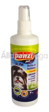 Panzi Bolha- és kullancs riasztó permet kutyáknak 200 ml-es