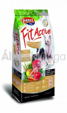 Panzi FitActive Senior Maintenance Hypoallergenic Lamb + Apple, Rice with Fish kutyaeledel 4 kg-os