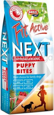 Panzi FitActive Young&Puppy-kölyök Next Hypoallergenic Lamb & Fish bárány & hal kutyaeledel 15 kg-os