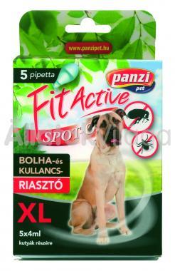 Panzi FitActive bolha- és kullancsriasztó spot-on XL-es (60 kg fölötti) kutyáknak 5 db-os